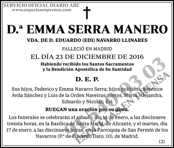 Emma Serra Manero